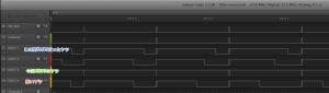 HX711 4連波形・・・一人以外速度違反